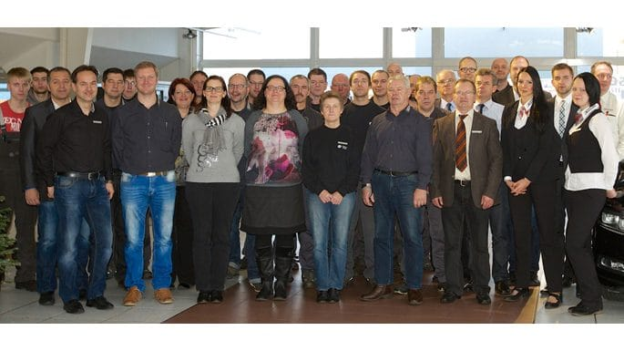 50 Miatarbeiter arbeiten bei Eschengrund