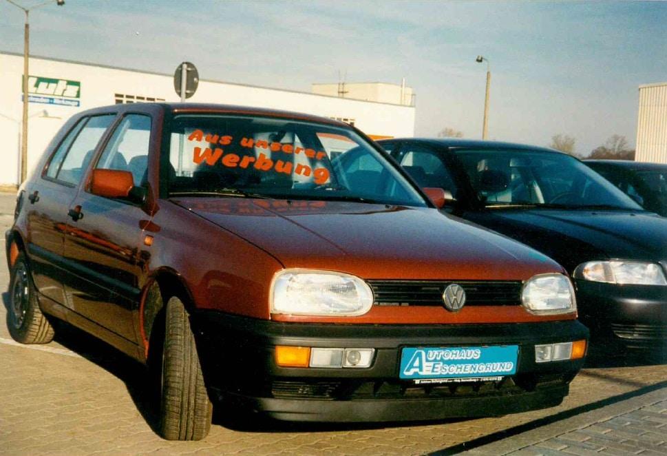 Fahrzeugpräsentation Eschengrund Golf 3