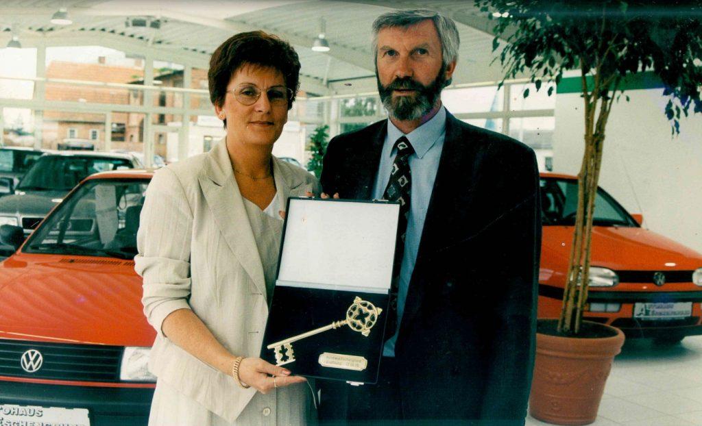 1995 Eröffnung Ausstellung