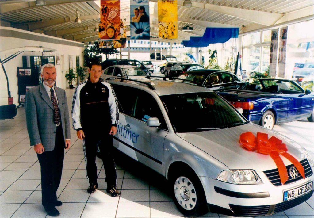 Andreas Dittmer Sponsoring