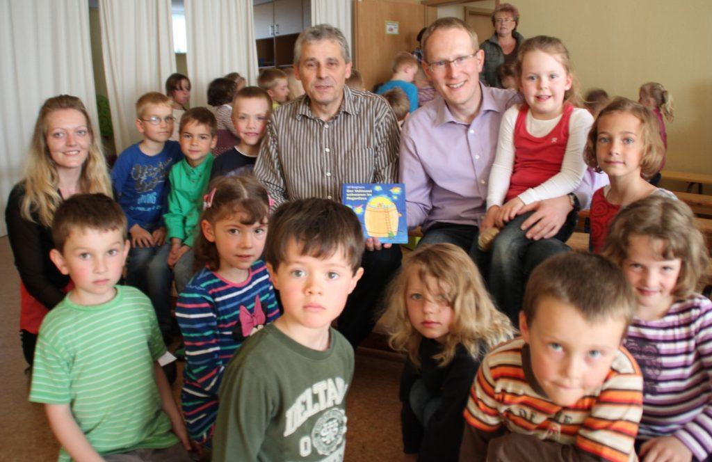 Eschengrund zu Besuch im Kinderhaus Windmühle