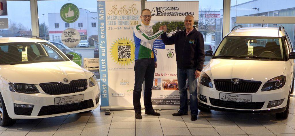 Mecklenburger Seenrunde 2014 Autohaus Eschengrund