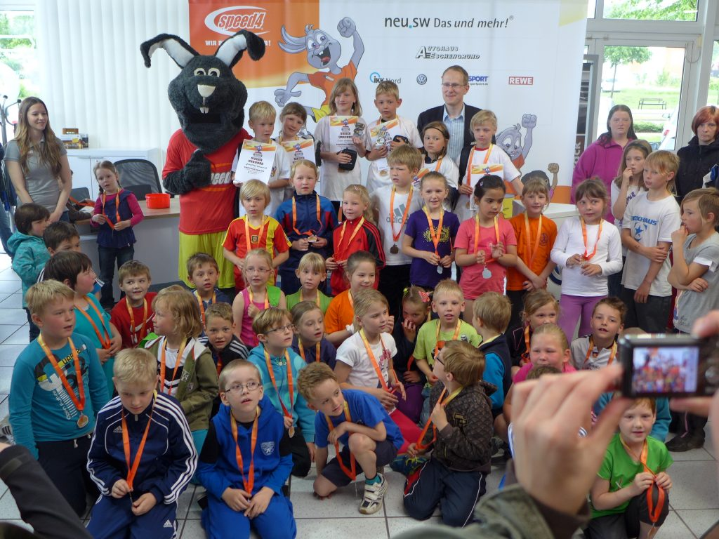 Speed 4 Schulmeisterschaft im AUtohaus Eschengrund Neubrandenburg